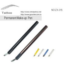 Manuel tatouage plume pour la broderie de sourcil