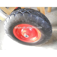 roue pneumatique en caoutchouc 4.80 / 4.00-8