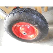 pneumatic rubber wheel 4.80/4.00-8