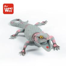 Produtos de venda a quente tpr soft rubber lagarto brinquedo squishy para educação