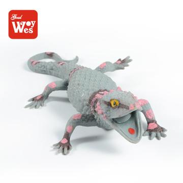 Produits de vente chaude TPR Soft rubber Lizard Spishy Toy pour l'éducation