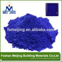 dark purple blue color pigment high temperature pigment for making crystal mosaic
