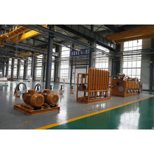 Hydraulic System Of Hydrostatic Molding Line