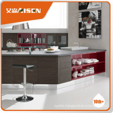Popular for the market veneered kitchen cabinet