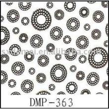 más de quinientos patrones impresión tela de lona de algodón
