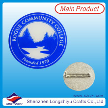 Wholesale Cheap Custom Enamel Metal Label Pin
