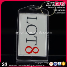 Custom logo blank acrylic key chains