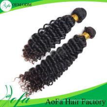 Cheveux vierges remy de cheveux de vague mongole humaine non transformés de 100%
