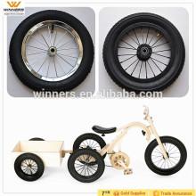 carro infantil 10 '' 12 '' roda inflável