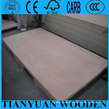 1220*2440mm, 12mm/15mm/18mm Okoume Furniture Plywood