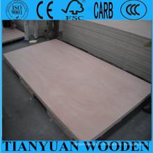 1220 * 2440mm, madeira compensada da mobília de Okoume de 12mm / 15mm / de 18mm