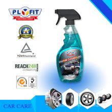 Limpiador de ruedas para rociador práctico