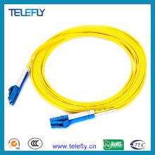 LC-LC Duplex Cable de fibra óptica