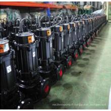 Chine meilleure qualité meilleure efficacité des eaux usées Submersible pompe à eau