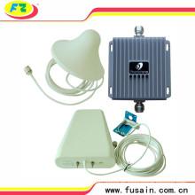 Repetidor de banda dual celular Ganancia de 55dB Teléfono móvil Amplificador de señal móvil 850 / 1900MHz GSM Booster de señal 3G