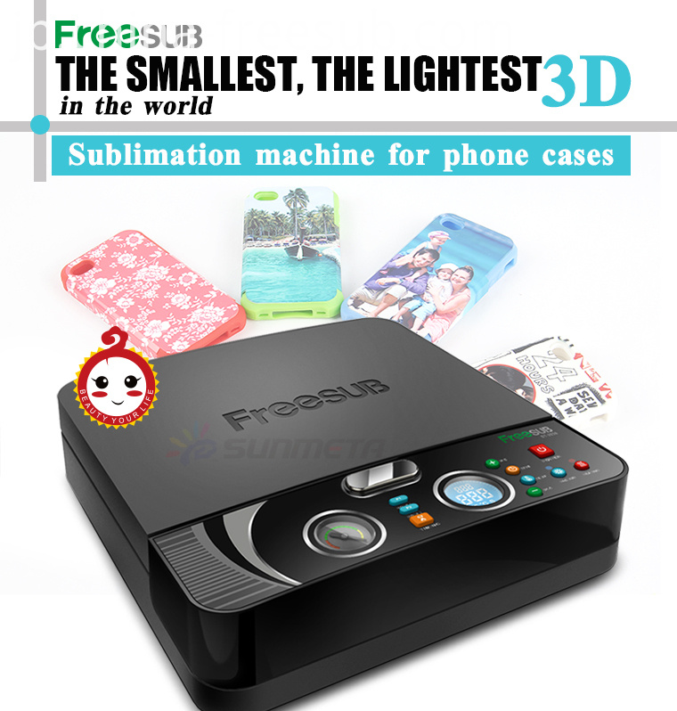FREESUB Sublimation Customize Phone Cover Printer Machine