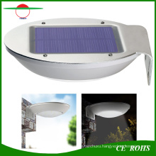 New Style Radar Motion Sensor Dim Mode Deck Solar Lights 16 LED Garden Wall Light Mini Street Lamp