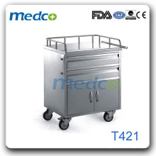 Medical cart trolley hot T421