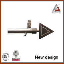 Curtain Poles, Tracks & Accessories Type and Iron Metal Type Curtain Rod Set