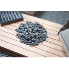 composto de plástico de grão de madeira é um produto especificamente projetado para arquitetura exterior