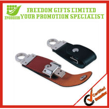 Custom Promotional High Quality Leather USB Disk