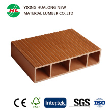 WPC Outdoor Decking Wood Plastic Coposite Decoration Boards (M4)