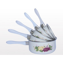 sauce pan sets with coating enamel & sales for sets