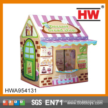 Out Door Play Bread House With Door Ring Tent For Children