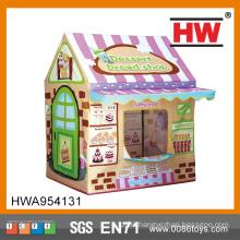 Out Door Play Bread House With Door Ring Tent For Children