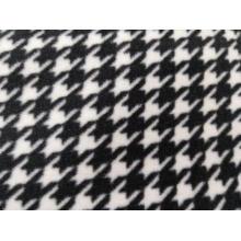 100% polyester polaire imprimé tissu à tricoter