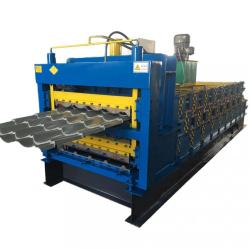 Three Layer Colored Steel Roof Tile Forming Machine