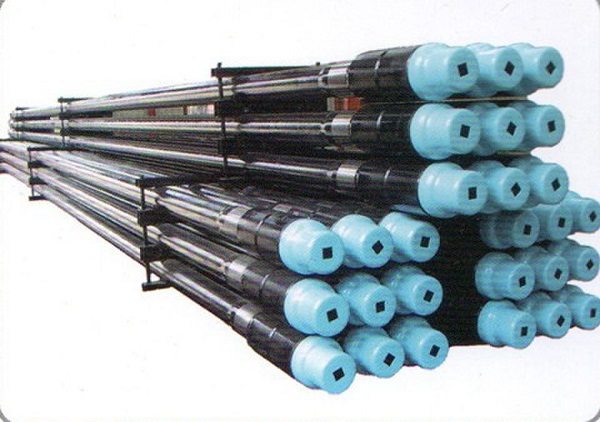 Friction welding drill pipe and adapter