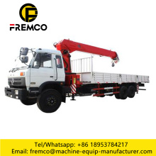 8 Ton Telescopic Knuckle Boom Mounted Crane
