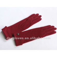 long turn cuffed cashmere gloves
