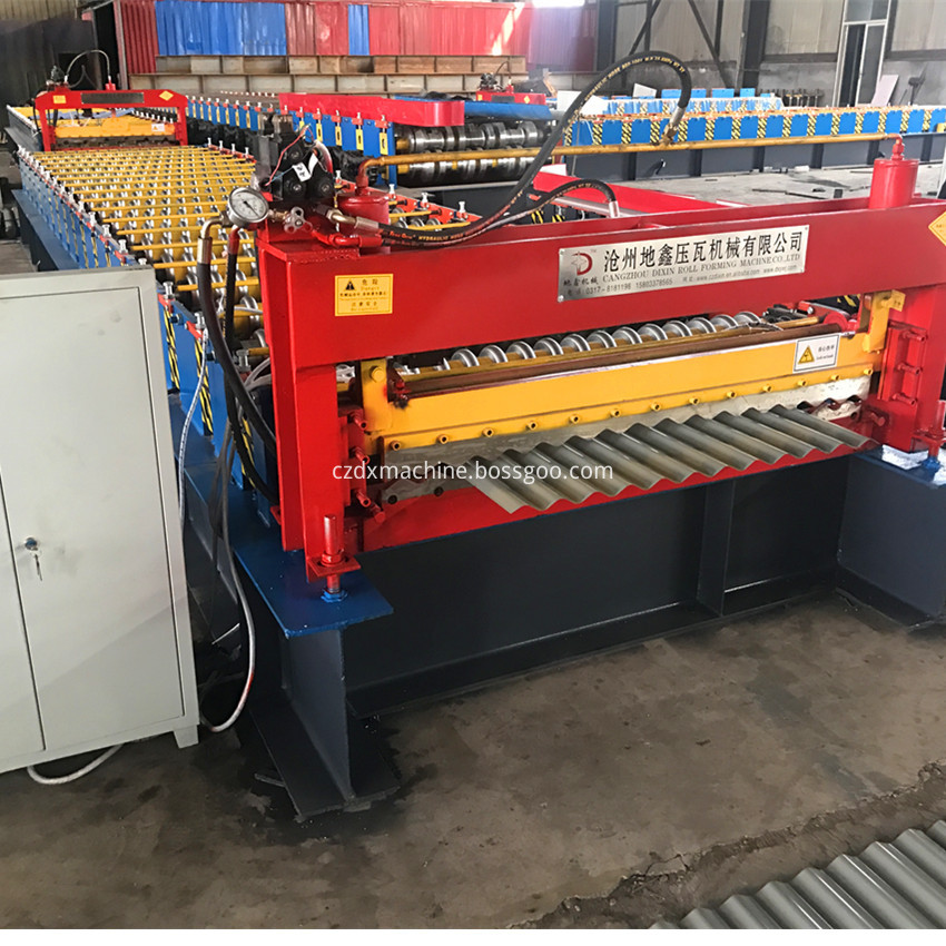 Aluminium Corrugating Machine