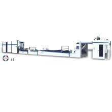 Automatic high speed flute litho laminator with stacker