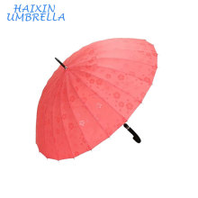 Nova Promoção Folha de Lótus Encontro Água Show de Flores Mudando de Cor Guarda-chuva Quando Chuva Molhada Guarda-chuva para Uso de Carro e Ao Ar Livre