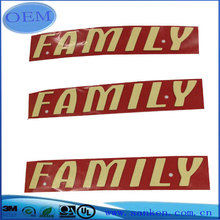 Customized Printing English Letter Plate