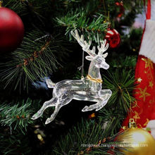 Decalques de plástico Glitter Natal ao ar livre Barato