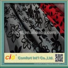 tissu de sofa de chenille / tissu de sofa de flocage / tissu de tapisserie d'ameublement pour des meubles