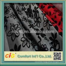 chenille sofa fabric/flocking sofa fabric/upholstery fabric for furniture