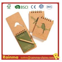 Mini A6 A7 Spiral Notebook with Custom Print