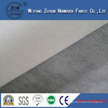 Tissu non-tissé blanc de polypropylène Spunbond pour des sacs à main de supermarché