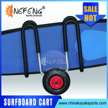 High quality aluminum surfboard cart