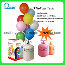 Disposable 30 Balloons Helium Tank for Sale