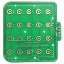 Al presionar el teclado 2L placa de circuito ENIG