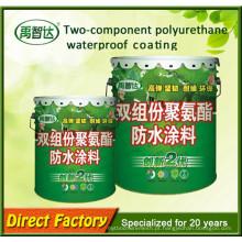 Alta Qualidade Dois Js Componente Polvurethane Pintura À Prova D 'Água