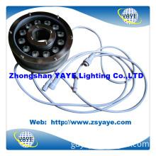 Yaye DMX Controller AC/DC12V/24V 12W LED Underwater Pool Light IP68 with Warranty 2 Years