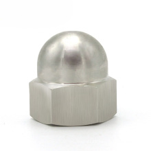 Factory direct sale all size round dome inter threaded nut stainless steel