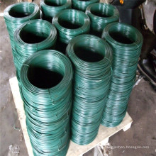 PVC grün beschichteter verzinkter Eisen Draht